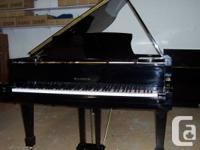 "SECONDHAND SAMICK SG-185, 6' 1"" EXPERT GRAND PIANO."