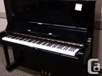Yamaha U3 upright pianos are among the most popular
