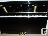 USED YAMAHA-JAPAN SMALL UPRIGHT PIANO. IN EXCELLENT