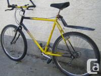 Precision - with 26 inch tires This bike, like all the
