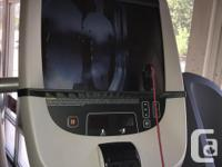 The TRM 885 is the top-of-the- line treadmill for
