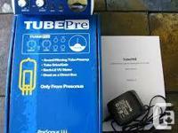 Presonus TUBEPre new in box, never used. Great for