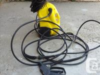 Hello: I have a pressure washer for sale. It is in
