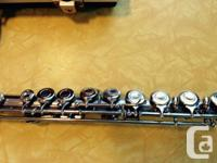Silver flute - Bring this instrument to life! It has
