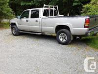 Make GMC Model Sierra 3500HD Year 2005 Colour Grey kms