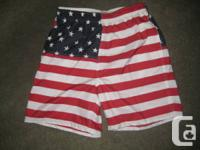 Old Navy American Red White and Blue Swim shorts/trunks