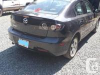 Make Mazda Model 3 Year 2007 Colour Dark Grey kms