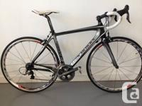 52cm Swirl Merckx race bike, full carbon frame/fork as