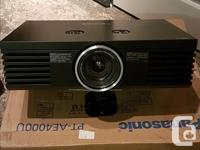 I have a Panasonic PT-AE4000U 1080P projector for sale.