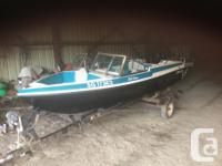 1994 -15' Glascon boat with 1995 90 HP Johnson motor