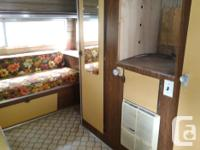 A solid vintage trailer looking for someone to complete
