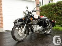 For sale is a 2010 Royal Enfield Bullet C5 Classic with