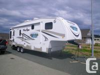 This unit is as new Forest River.... - 7960 dry weight,