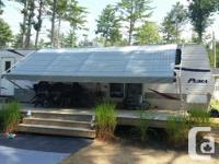 2008 Park Model Puma Trailer with 2 slide-outs and 4