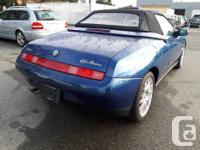 Make Alfa Romeo Model Spider Year 1997 Colour Blue kms