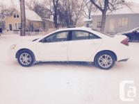 Make Pontiac Model G6 Year 2007 Colour White kms 136