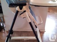 Usage High chair extremely great problem Asking 125$ or