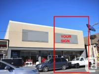 Sq Ft 2500 Prime Retail Space For Lease - 81 Montreal