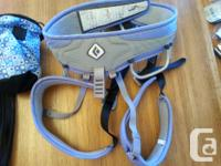 EUC climbing gear used only 10 times. Includes ladies
