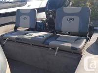nanook dual console with 90 hp merc 4 stroke efi tilt