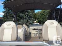2012 Vectra 21 2s Pontoon boat with 60 hp bigfoot motor
