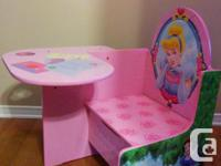 ONE-OF-A-KIND PRINCESS DESK. STUNNING IMAGES OF 3