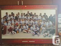 COLLECTION EDITION PRINT 2'BY 3' 2002 TEAM CANADA