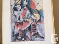 Colourful piece by famous painter Pablo Picasso. Bought for sale  Saskatchewan