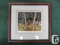 """Combermere""... signed and professionally framed print"