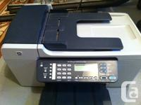 HP Officejet 5610 All In One Printer for sale. Prints,