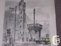 Prints of Glasgow Scotland by WJ Maskell (1969), I have