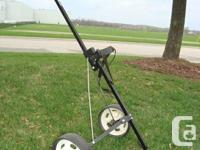 Pro Classic Folding Deluxe Golf Cart Trolley - Great