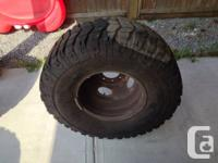 I have a set of 6 tires and they have 80 percent ware