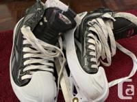 Selling Pro-Level RBK 20K Ice Hockey Goalie Skates -