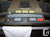 Pro-form treadmill has 1 to 10 levels by just push of a