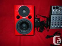 * Price if for 2 Pro Fostex PM0.4N Bi-amplified RED