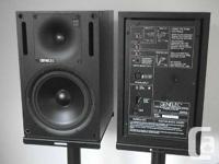 PROFESSIONAL Genelec 1031A STUDIO Monitors Speakers,