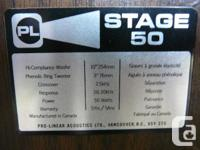 Nice sounding vintage Pro-Linear Stage 50 Series II