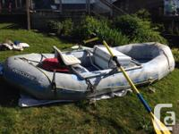 13' hypolon whitewater boating in A+ shape (no spots,