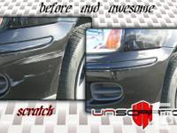 UNscratch uses a unique patented paint scratch repair