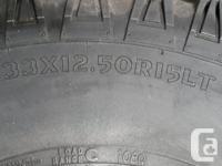 $199 OBO. Still got some life in them Procomp Tires