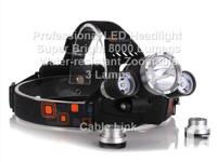 Professional High Capacity LED Headlight 8000 Lumens 3