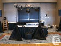 This Mobile DJ gear was used by retired Premier Wedding