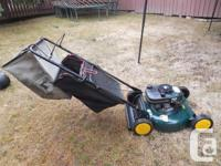 "Craftsman 21"" Mulching mower - 6.0 h.p. This is missing"