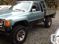 Make Toyota Year 1984 Colour Blue Trans Automatic Truck