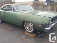Make Dodge Model Coronet Year 1968 Colour GREEN kms