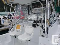 2001 Prokat 22 foot offshore fishing and overnight