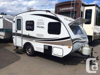 This new model of the Plus travel trailer is the