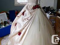 Marketing my Hand Made Wedding celebration dress for
