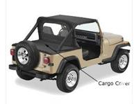 marketing Jeep swimsuit top with back panel and Tonneau